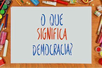 o que significa democracia