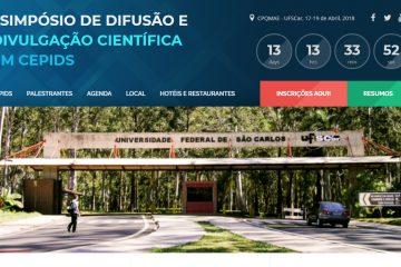 LAbI promove simpósio de difusão e divulgação científica na UFSCar