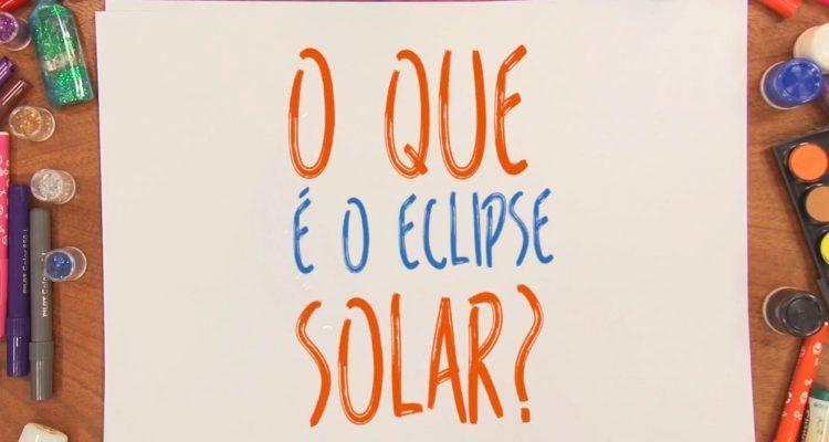 O que é o eclipse solar
